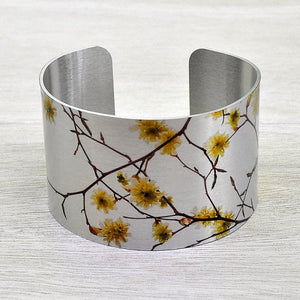 Witch Hazel Aluminum Cuff