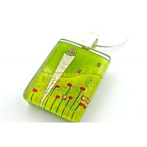 Amidst Poppies Pendant
