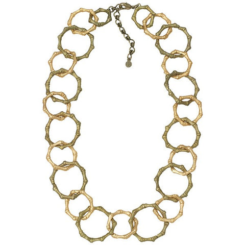 Bamboo Contour Necklace