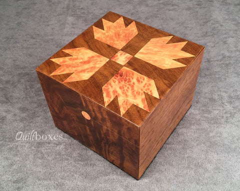 Bear Paw Quilt Box