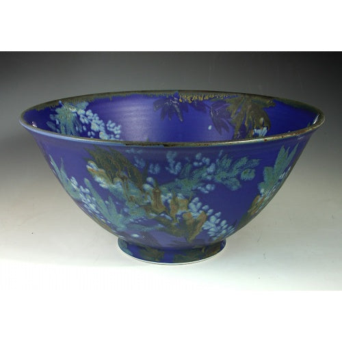 Extra Large Blue Bowl