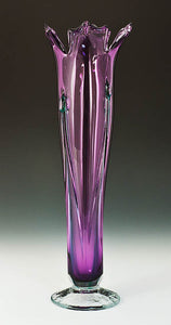 Purple Flower Vase