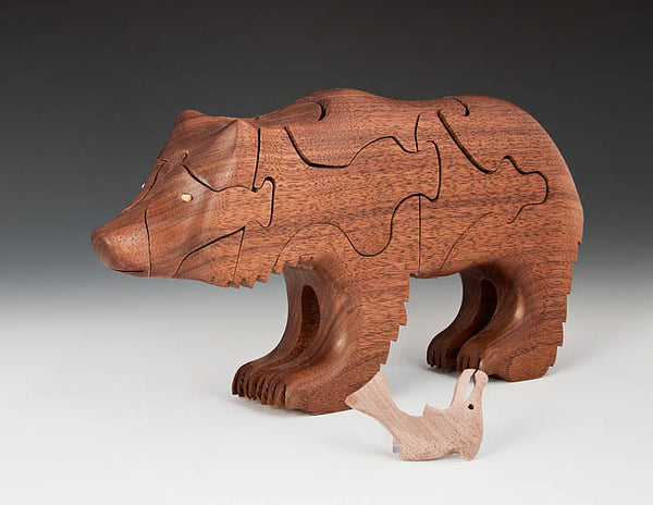 Walnut Bear Puzzle