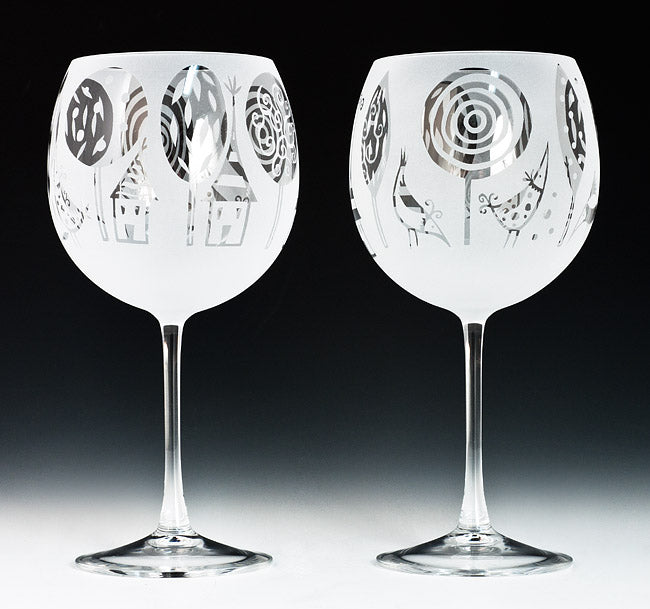 Enchanted Woodlands Goblets