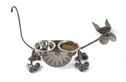 Glass Eye Cat Feeder
