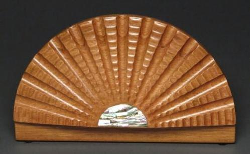 Wood Scallop Box