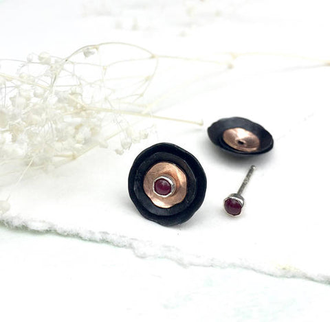 Merlot Monday Earrings