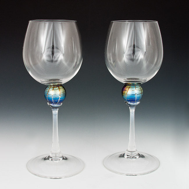 Iridescent Planet Goblets
