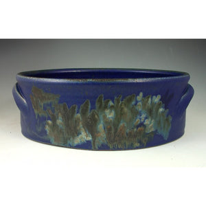 Large Blue Baking Dish