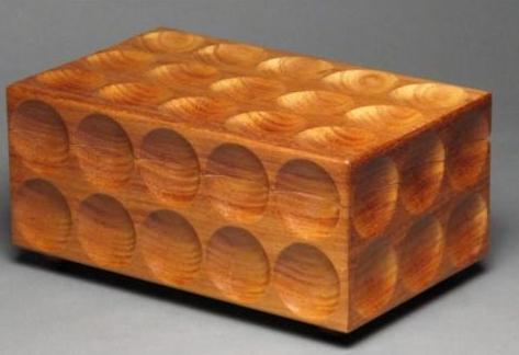 Leopard Wood Matrix Box