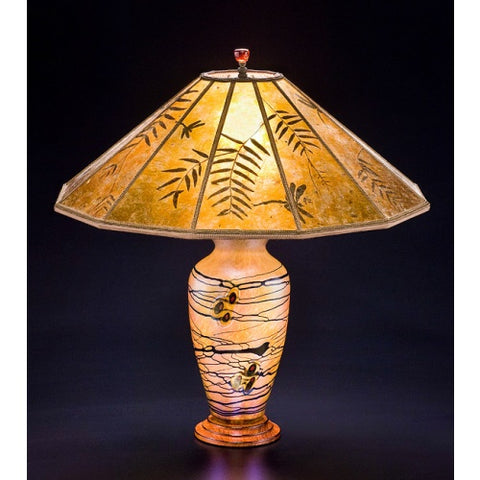 Arts and Crafts Meadow Lamp