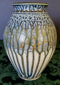 Blue Ash Traditional Vase