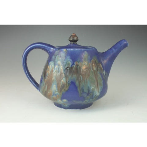 Medium Blue Teapot