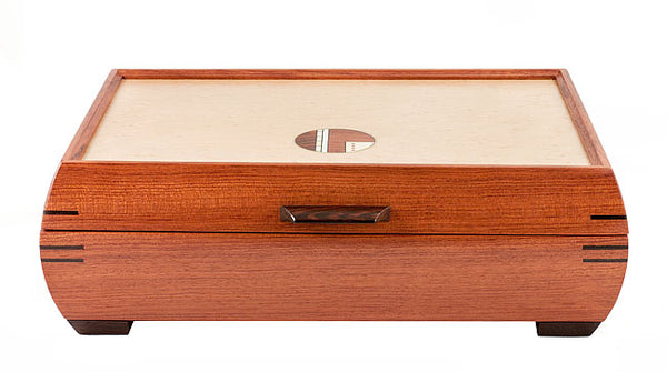 Medium Bubinga Jewelry Box