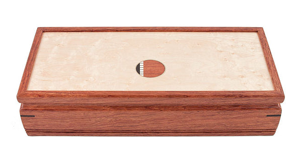 Small Bubinga Jewelry Box
