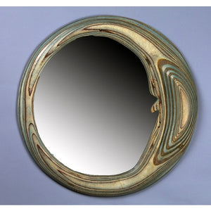 Plywood Moon Mirror