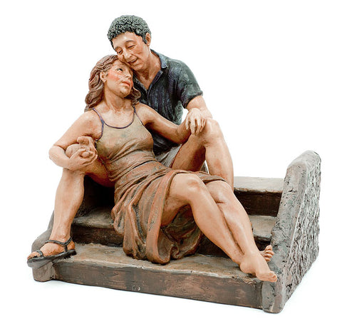 Robert and Rosie Sculpture