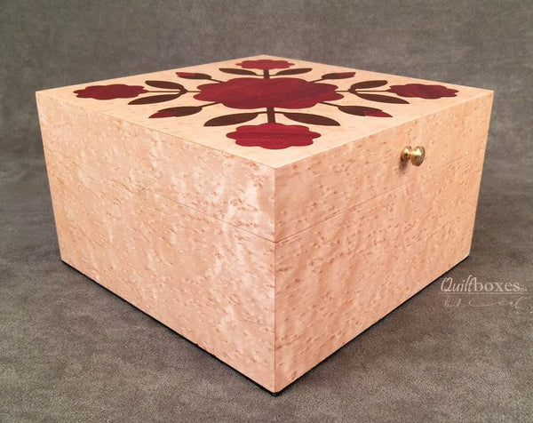 Rose of Sharon Quilt Box