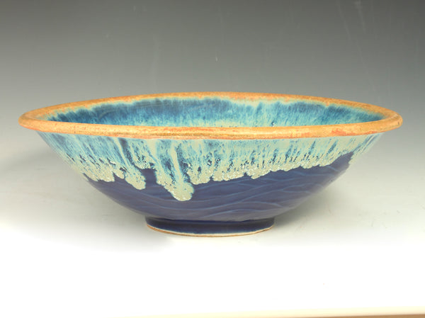 Small Blue Flower Bowl