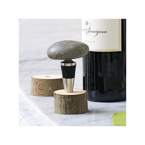 Stone Wine Bottle Stopper