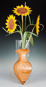 Sunflower Wall Vase