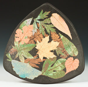 Triangular Multi Leaf Plate