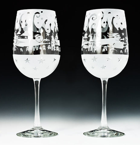 Vina People Wine Goblets