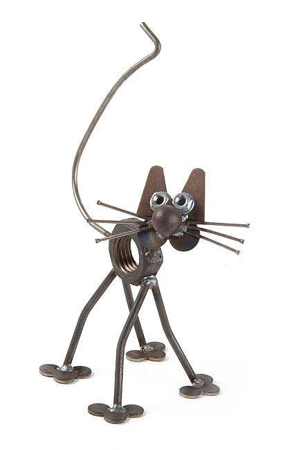 Baby Nuts the Cat Sculpture