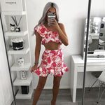 Dolce Frill Crop + Dolce Frill Skirt Twin Set