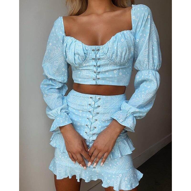 Baby Blue Twin Set -