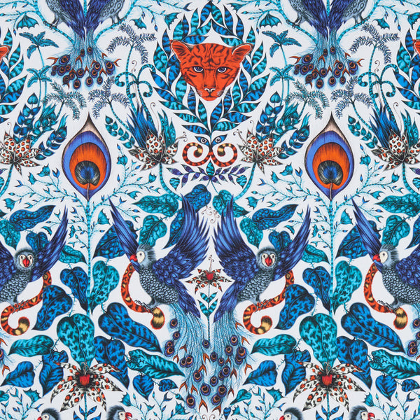 Emma J Shipley for Clarke & Clarke - Amazon Blue Fabric