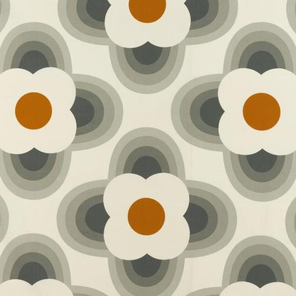 Orla Kiely Stripped Petal Orange