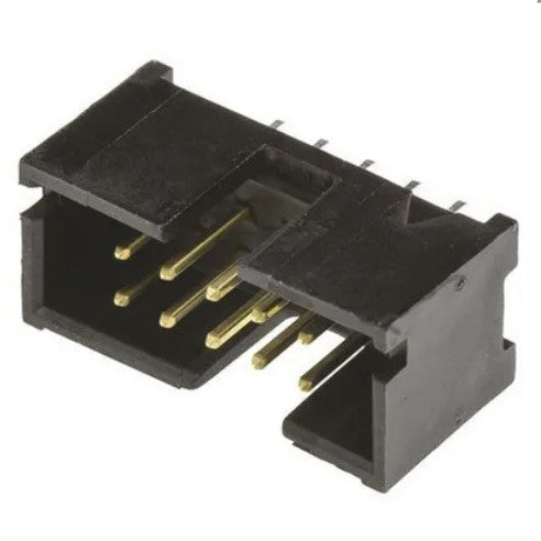 10 Pin shrouded IDC connector