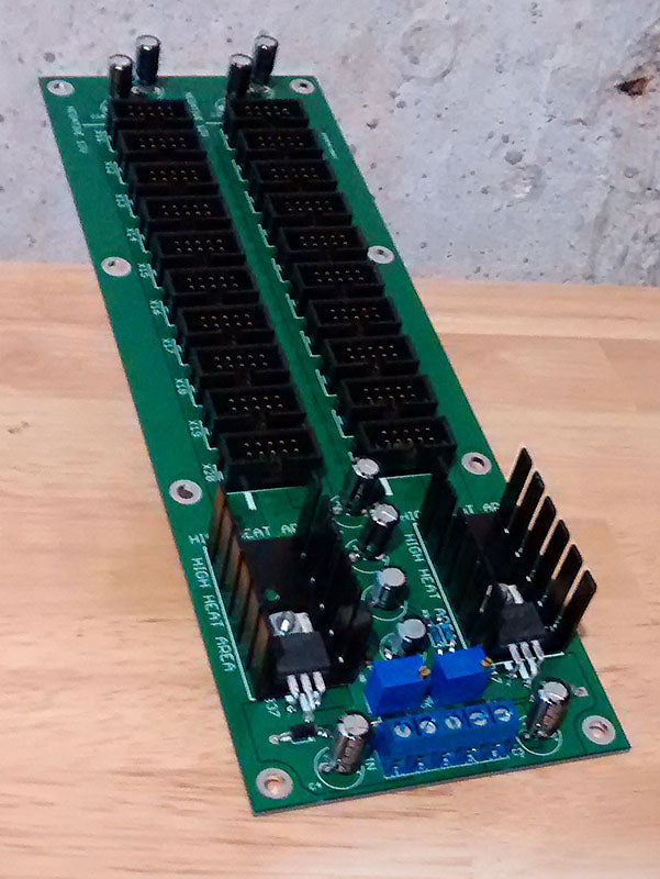 Eurorack powered bus board
