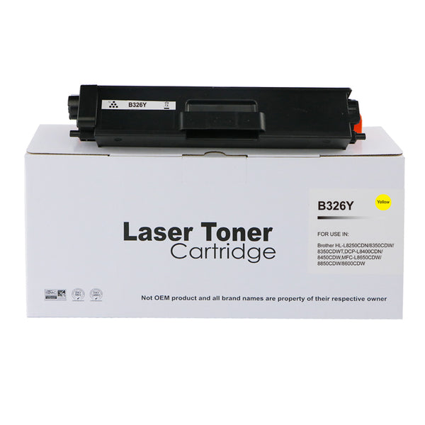 Comp Brother TN326Y Laser toner
