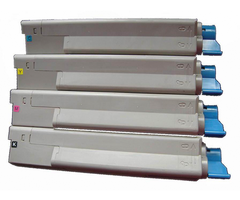 Comp OKI C5850 Yellow Toner 43865721