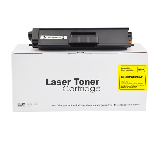 Reman Brother TN325Y Laser toner
