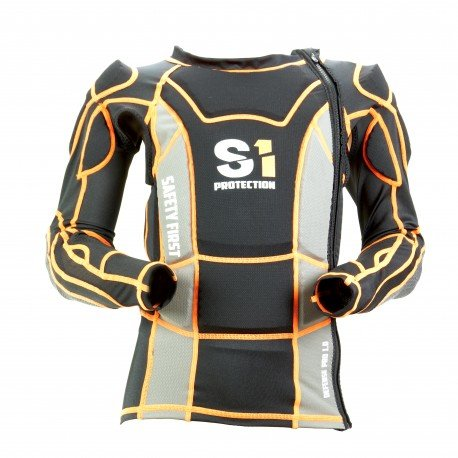S1 Safety pro 1.0 Jacket Black/Orange