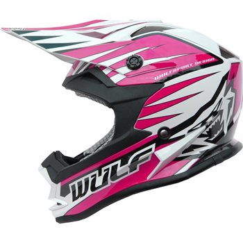 Wulfsport Race Advance Helmets Pink