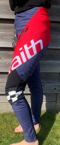 Faith 20 BMX Second Advent Pant Red/white/Blue