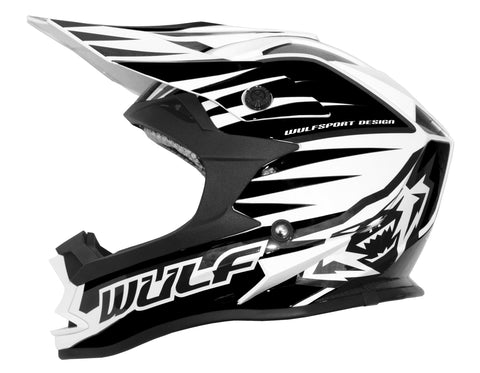 Wulfsport Race Advance Helmets black