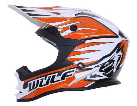 Wulfsport Race Advance Helmets Orange