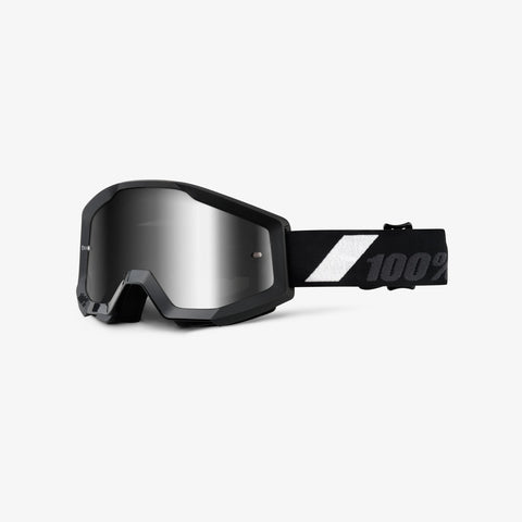 100% The strata jr. Goggle Black goliath
