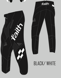 Faith 20 BMX Second Advent Pant Black/white