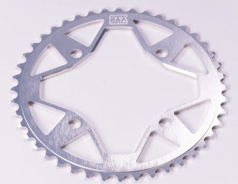 Stay Strong 7075 Alloy 4 Bolt Chainring Silver