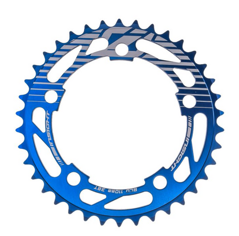 INSIGHT CHAINRING 110MM BLUE