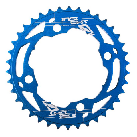 INSIGHT CHAINRING 4h - 104MM BLUE