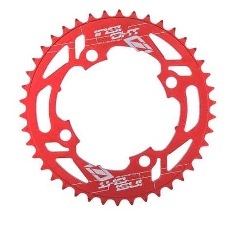 INSIGHT CHAINRING 4h - 104MM RED