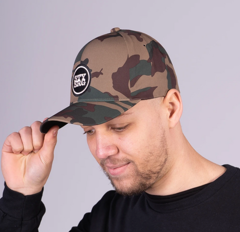 STAY STRONG ICON / FLEXFIT / CAMO CAP S/M FLEXFIT