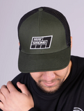 STAY STRONG 7 GRID / SNAPBACK / GREEN/BLACK S/M FLEXFIT
